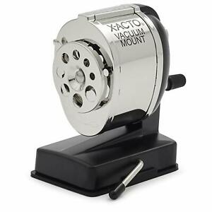 X acto Ks Manual Vacuum Mount Pencil Sharpener