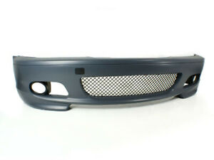 00 01 02 03 04 05 06 Bmw E46 3 series 2dr M tech Ii Style Front Bumper Coupe