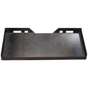 1 4 Universal Quick Attach Mounting Plate For Skid Steer Bobcat Kubota Cat