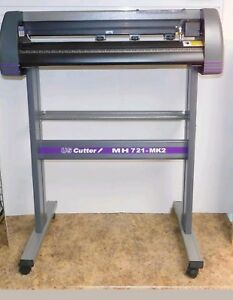 Us Cutter Model Mh 721 Mk2 28 Vinyl Cutter Plotter With Stand In Box