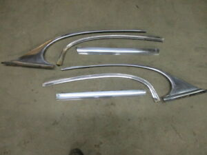Cadillac 1951 50 52 53 2dr Hardtop Rear Side Window Molding Stainless Exterior
