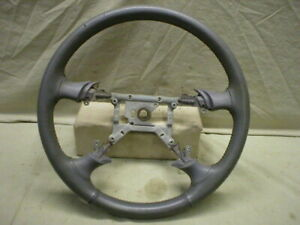 Mustang Steering Wheel Leather Wrapped 94 95 1994 1995 Gt Gray Opal 96 04 Ant