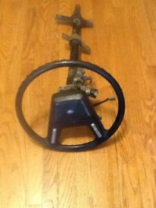 1984 Mustang Gt Tilt Steering Column With Wheel Key Cruise Control Buttons