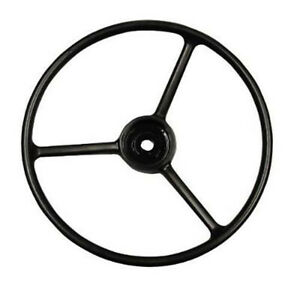 Steering Wheel 385156r1 Fits Ih Farmall 806 1206 1456 5288 5488 1066 Thru 1586