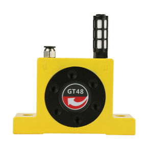Gt48 0 2 0 6mpa Pneumatic Air Turbo Turbine Vibrator With Muffler Connector Sps