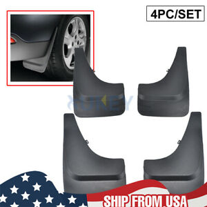 Front Rear Mud Flaps Universal Splash Guards Fender For Pick Up Truck Mudguards