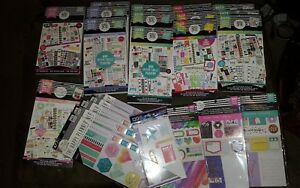 Lot 24 Books Create 365 Mambi Happy Planner Sticker Sheets Note Boss Babe 500