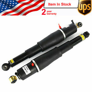 2000 2011 Rear Air Suspension Strut Shocks Pair For Chevy Gmc Yukon Xl Cadillac