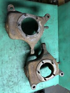 1996 97 Ford F350 Dana 60 Ball Joint Front Axle Knuckles Obs