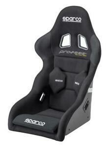 Sparco Competition Racing Bucket Seat Pro Lf 2000 Ii Fiberglass Black