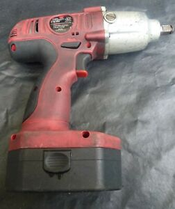 Mac Tools 1 2 Drive 19 2v Cordless Impact Wrench W Battery