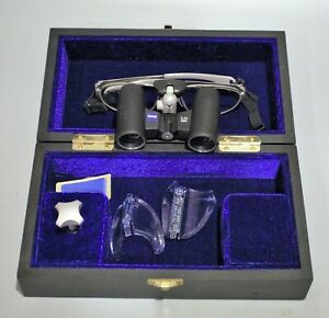 Zeiss 3 2 X 500 Dental Surgical Loupes Titanium Frame Glasses