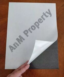 Self Adhesive Paper Magnet Sheets In 9 x12 30sheets