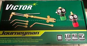 Victor Journeyman Torch Kit Set 540 510 Edge W Regulators 0384 2036 New unopened