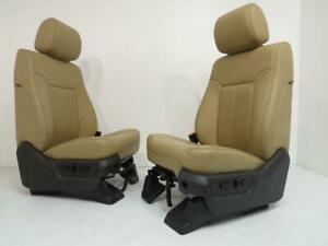 Ford Super Duty F250 F350 Front Seats 1999 2010 2011 2012 2013 2014 2015 2016