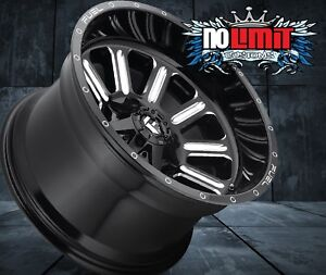 22x12 Fuel Hardline New D620 8x6 5 Et 44 Gloss Black Wheels Set Of 4 Ram 2500