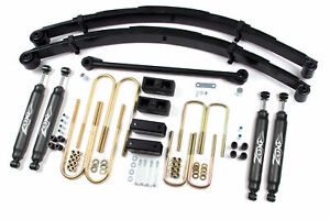 Ford Excursion 6 Lift Kit 2000 2005 Gas Diesel 4wd Zone Offroad F3 W Upgrades