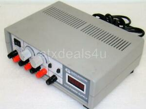 Global Specialties 1310 115v Ac 50 60hz 60 Va Max Triple Output Dc Power Supply
