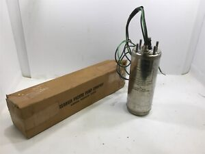 Franklin 2445059004 1 2 Hp 2 wire Submersible Pump 230 V 3450 Rpm Single Phase