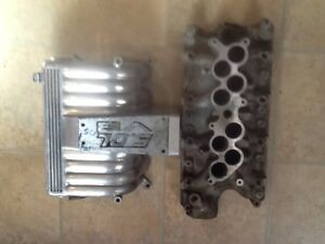 86 93 Mustang Cobra Gt 40 5 0 Upper And Lower Intake Oem Ford