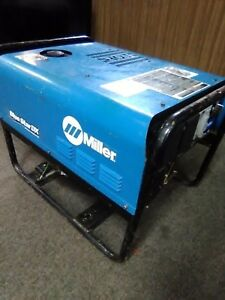 Miller Bluestar 185 Gas Welder generator Runs Great