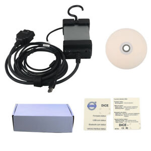 2014d Volvo Vida Dice Electrical System With Obd2 Cable Diagnostic Tool