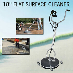 18 Diameter Pressure Washer Concrete Or Flat Surface Cleaner 3 8 Blasthole Us