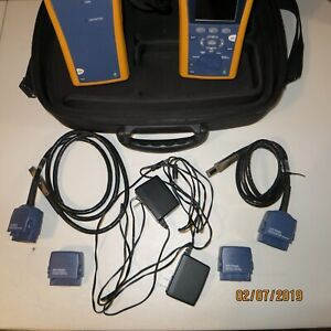 Fluke Dtx 1800 Cat 6a Cable Analyzer Smartremote W Accessories Software 2 780