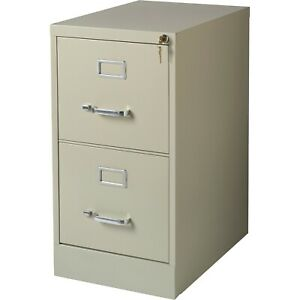 2 Drawer Vertical Steel Filing Cabinet Lockable Office Safe Furniture Locking