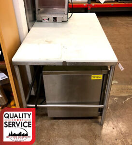 Commercial Stainless Steel Poly Top Work Table 36 X 60