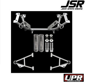 79 95 Mustang Gt Lx Cobra Upr Mild Steel Tubular K Member A arm Kit black