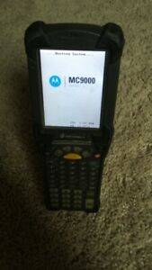 Symbol Motorola Mc9090 gf0hbega2wr Handheld Mobile Wireless Barcode Scanner