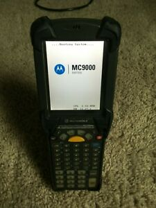 Symbol Motorola Mc9090 gj0hbega2wr Handheld Mobile Wireless Barcode Scanner