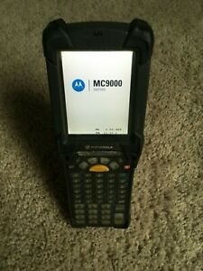 Symbol Motorola Mc9090 gj0hjeqa6wr Handheld Mobile Wireless Barcode Scanner