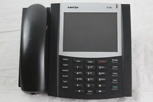 Lot Of 5 Aastra 6739i Voip Phones W Handset Peg Stands unknown Password