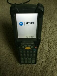Symbol Motorola Mc9090 gj0hjgqa6wr Handheld Mobile Wireless Barcode Scanner