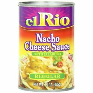 El Rio Regular Nacho Cheese Sauce With Jalapeno Peppers 15 ounce Units pack Of