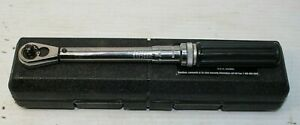 Gearwrench 85050 1 4 In Drive 30 200 In lbs Micrometer Torque Wrench