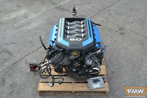 11 14 Mustang Gt 5 0 Complete Engine Manual Transmission 6 Speed Mt Coyote