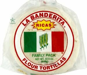 La Banderi Tortilla Family Pack 22 5 Ounce 12 Per Case
