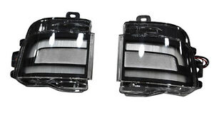 For Toyota Land Cruiser Lc200 16 18 Led Car Rear Smoked Fog Light Lamps Sets