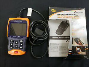 Actron Auto Scanner Plus Codeconnect W Abs Airbag Coverage Model Cp9680