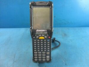 Symbol Motorola Mc9090g Wireless Laser Barcode Scanner Used