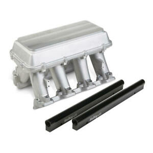 Holley Intake Manifold 300 119 Hi Tech Tunnel Ram Aluminum For Chevy Ls3 L92