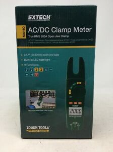 Extech Ac dc Open Jaw Clamp Meter Model Ma160