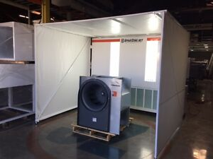 Mobile Prep Spray Booth u s a Made Approved Free Local Shipping