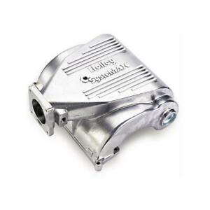 Holley Intake Manifold 300 74s Shiny Aluminum For 1986 1993 Ford 5 0l V8