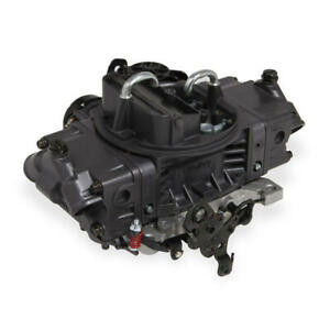 Holley Carburetor 0 82670 670 Cfm Electric Choke Black Anodized hard Core Gray