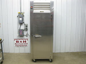 Traulsen Stainless Steel Heavy Duty 1 One Door Refrigerator Cooler Rht132wut fhs