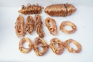 23 Lbs Clean Bare Bright Scrap Copper Wire Smelting Melting Art Crafts Foundry
